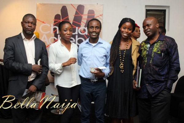 Toyin Akinosho, Ebi Atawodi, Tolu Ogunlesi, Ann Ogunsulire & Jahman Anikulapo