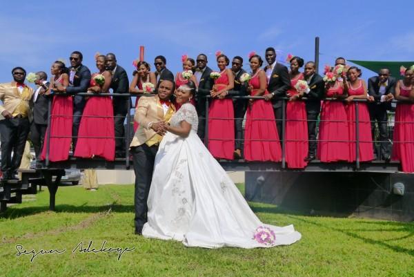 Adeyemi Yemi Sax Adeosun and Sholatayo Durojaiye Wedding - July 2013 - BellaNaija (1)