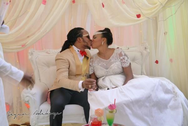 Adeyemi Yemi Sax Adeosun and Sholatayo Durojaiye Wedding - July 2013 - BellaNaija (2)