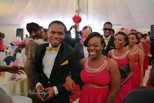 Adeyemi Yemi Sax Adeosun and Sholatayo Durojaiye Wedding - July 2013 - BellaNaija (3)