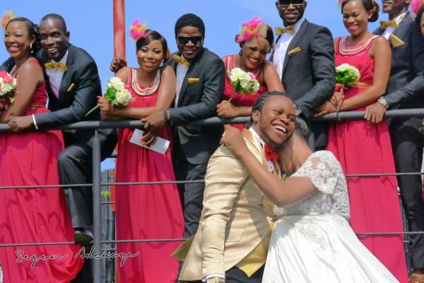 Adeyemi Yemi Sax Adeosun and Sholatayo Durojaiye Wedding - July 2013 - BellaNaija (4)