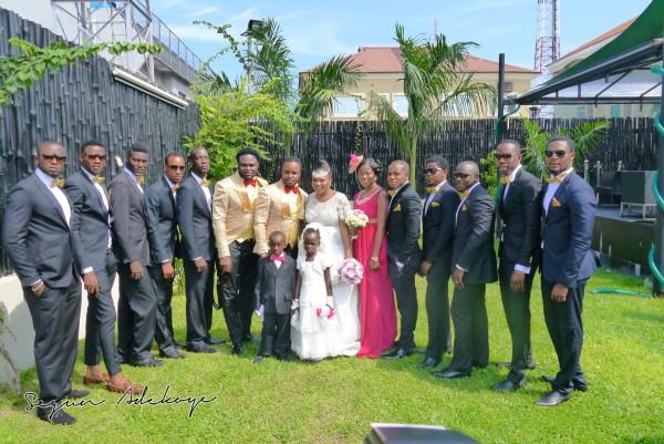 Adeyemi Yemi Sax Adeosun and Sholatayo Durojaiye Wedding - July 2013 - BellaNaija (6)