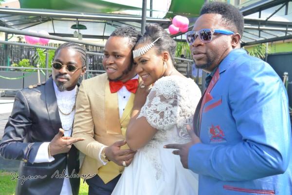 Adeyemi Yemi Sax Adeosun and Sholatayo Durojaiye Wedding - July 2013 - BellaNaija (8)