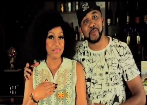 Ariel Stained with Banky W and Rita Dominic - BellaNaija - July2013