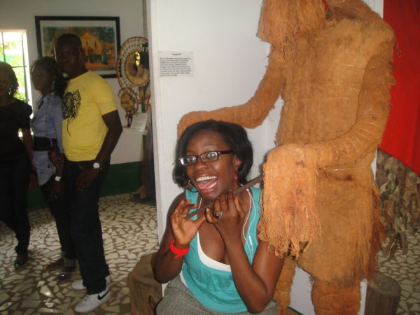 At the Gambian Museum