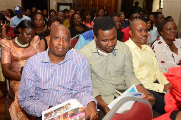 Men in attendance