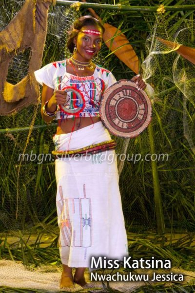 BN Beauty Exclusive - MBGN 2013 in Traditional Attires - July 2013 - BellaNaija 039