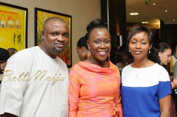 Akpo & Amaka Kentebe with Tara Fela-Durotoye