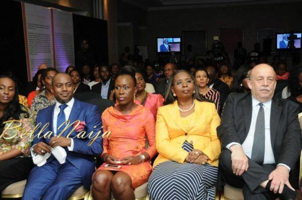 Fela Durotoye, Tara Durotoye, Ibukun Awosika & Francois Sastourne (Consul General of France)