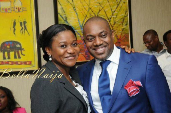 Mary Akpobome & Fela Durotoye
