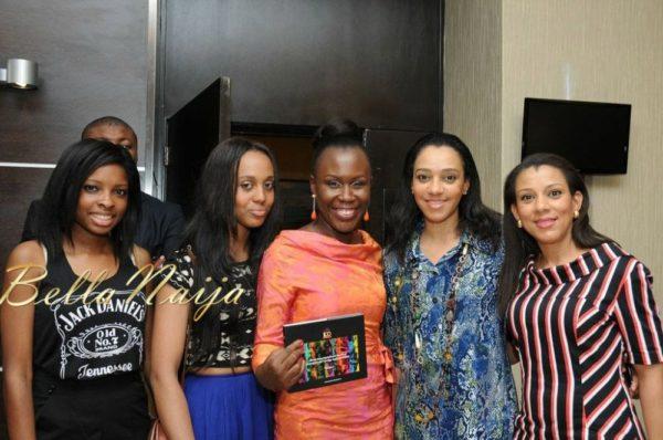 Tara Fela-Durotoye with Rume & Grace Onosede & Chukwu Onyeka