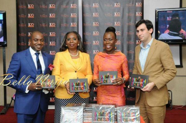 Fela Durotoye, Ibukun Awosika, Tara Fela-Durotoye & Simon Delatourne