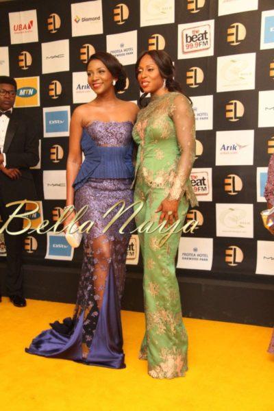 Genevieve Nnaji & Mo Abudu