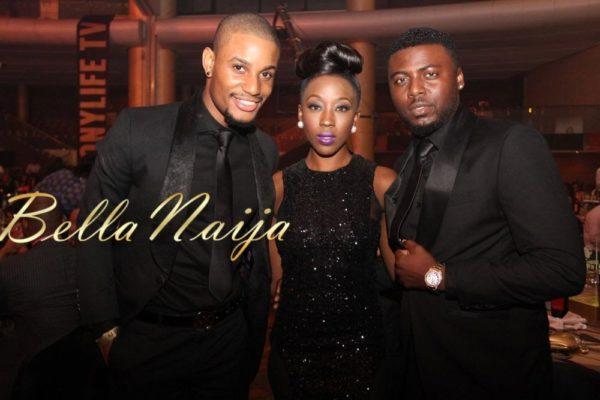 Alex Ekubo, Beverly Naya & Daniel Lloyd