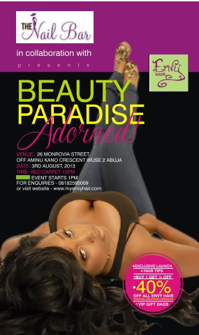 Beauty Paradise Adored Nail Bar - BellaNaija - July2013