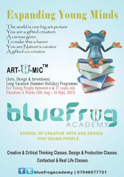Blue Frog - BellaNaija - July2013