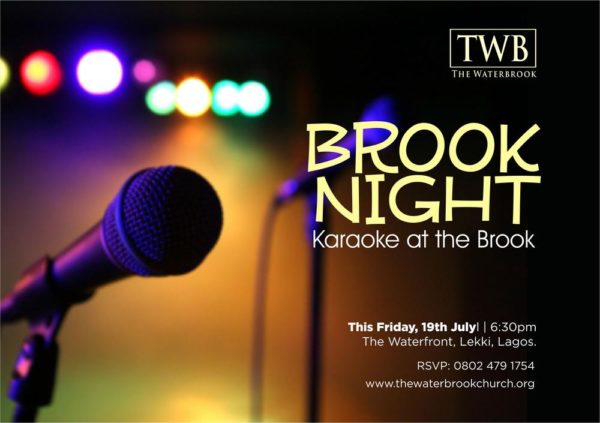 Brook Night - Karaoke at the Brook
