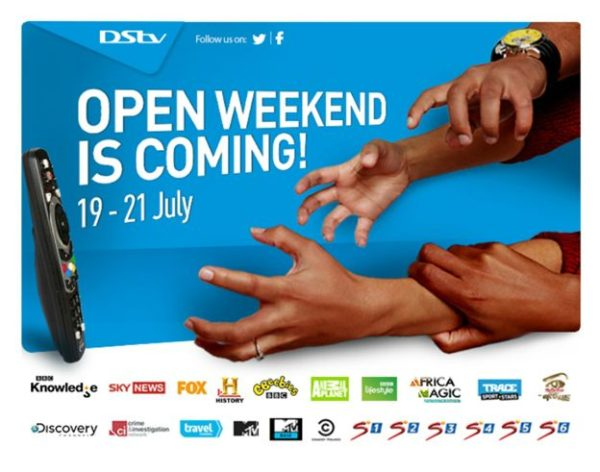 DSTV Open Weekend - BellaNaija - July 2013