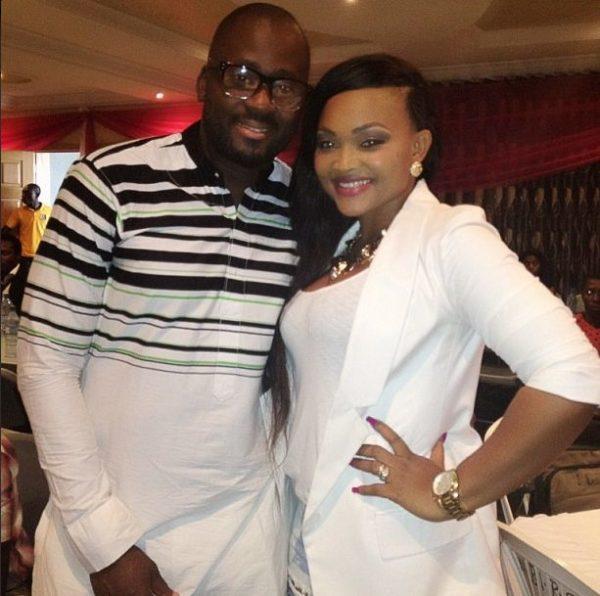 Desmond Elliot & Mercy AIgbe