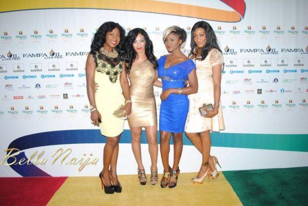 Susan Peters, Venita Akpofure, Eva Alordah & Oge Okoye
