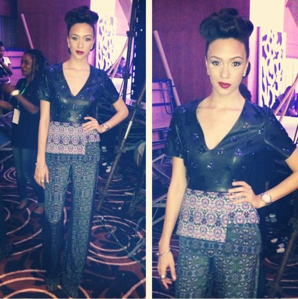 Eku Edewor in Jewel by Lisa