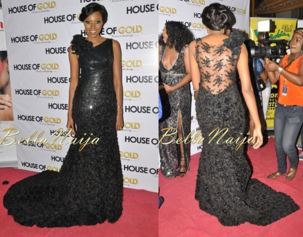 Exclusive - Yvonne Nelson House of Gold Lagos Premiere - July 2013 - BellaNaija 029