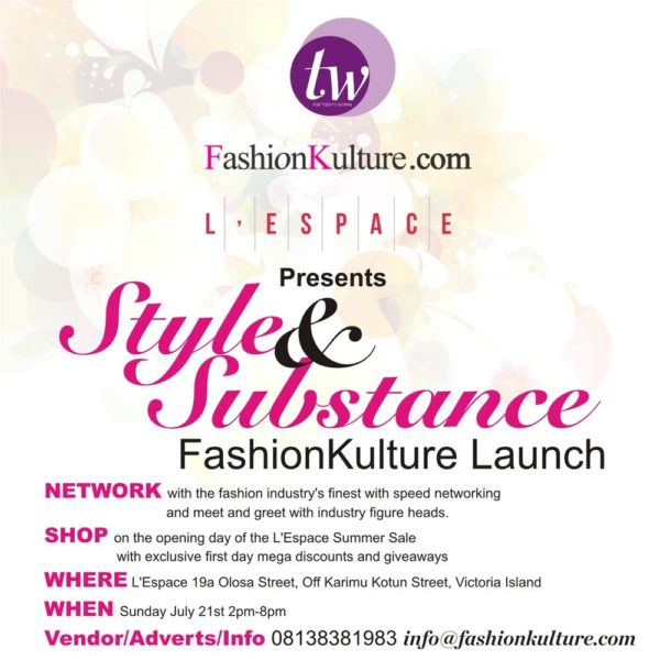 FashionKulture Launch - BellaNaija - July 2013