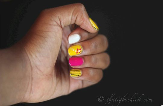 Genevieve Nnaji Inspired nail Art - BellaNaija - July2013002