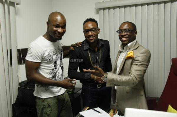 HarrySong, KCee, Julius Agwu