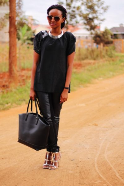 How to Wear Leather - BellaNaija - July20130010