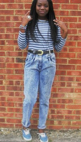 How to Wear the 90's Inspired Trend - Bellanaija - July2013006