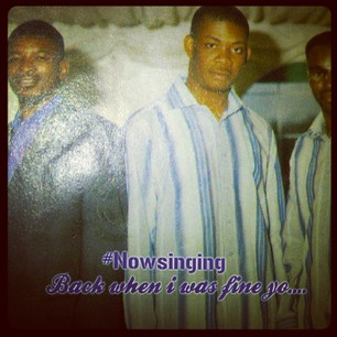Don Jazzy looking very calm (as always)