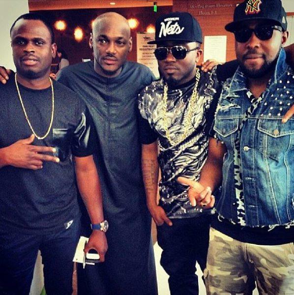 Tobi, 2Face Idibia, Ice Prince & DJ Caise