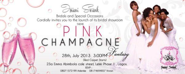Imani Swank - Pink Champagne