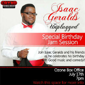 Isaac Geralds Unplugged