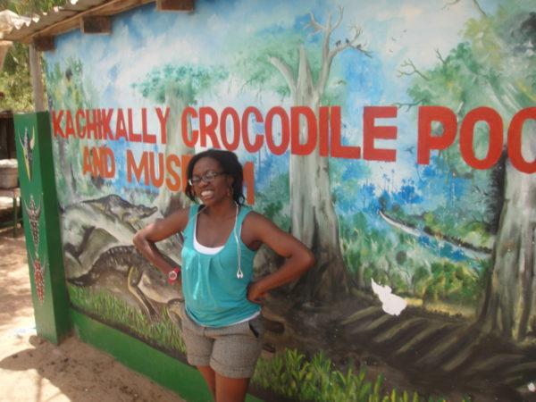 Katchikaly croc pond