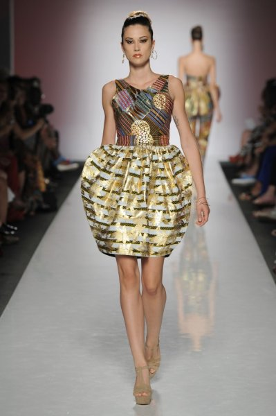 Africa Dazzles At The Rome Fashion Week 2013 View The Collections By Nigerian Ghanaian