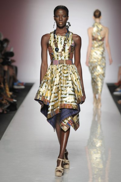 Africa dazzles at the rome fashion week 2013 view the Rome fashion designers