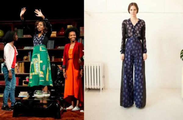 Michelle Obama in Maki Oh - June 2013 - BellaNaija