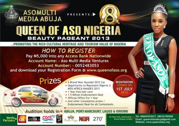 Queen of Aso Nigeria Beauty Pageant