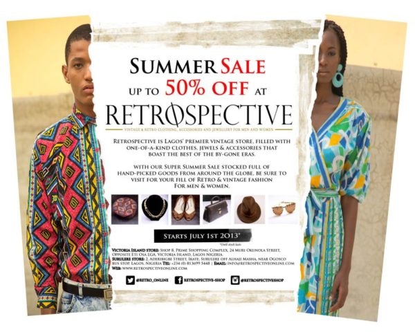 Retrospective Summer Sale - BellaNaija - July 2013