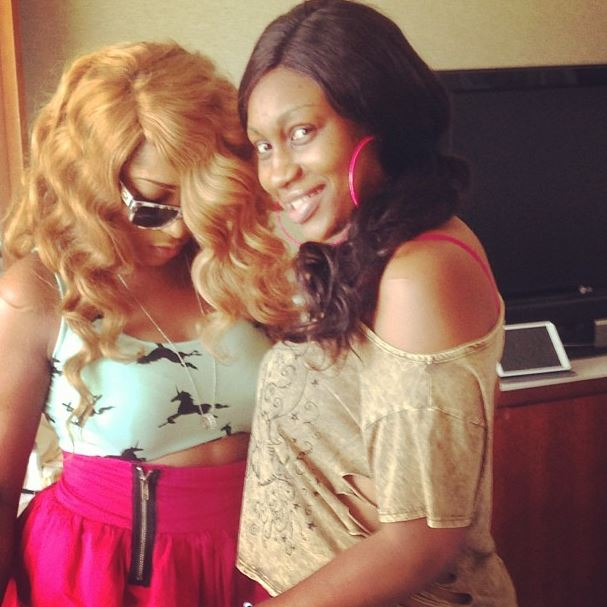 """Dope Girls Love To Shop""! Nollywood BFFs Rukky Sanda"