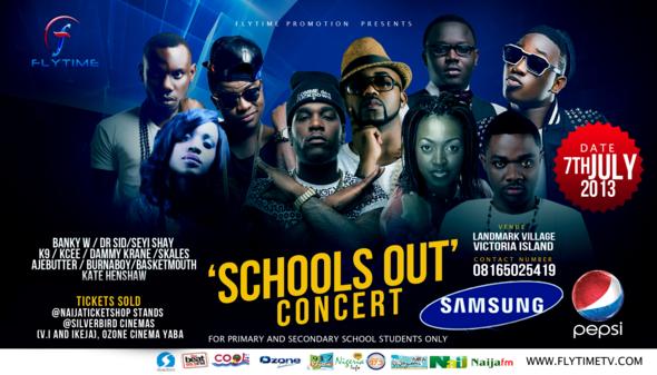 Schools Out Concert