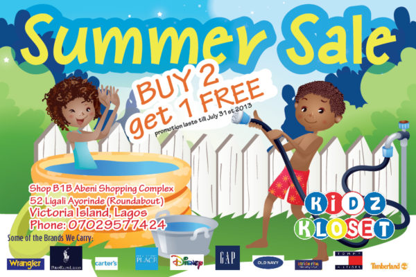 Summer Sale - July 2013