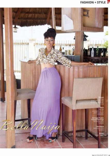 Tara Fela Durotoye coves TW Magazine August Issue - July 2013 - BellaNaija 023