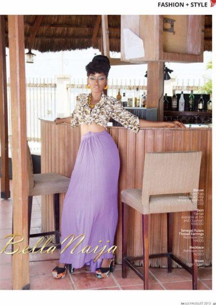 Tara Fela Durotoye coves TW Magazine August Issue - July 2013 - BellaNaija 023