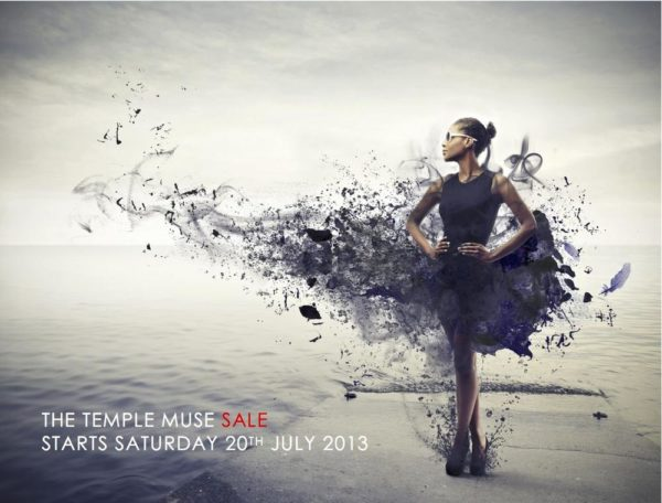 Temple Muse Sale 2013