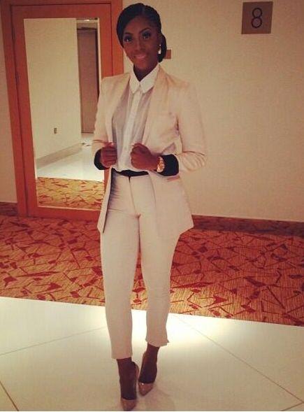 Tiwa Savage in Bridget Awosika