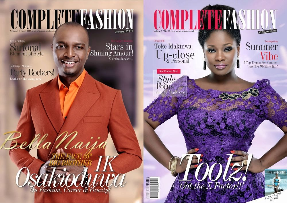 Sassy Meets Dapper Media Personalities Toolz Ik Osakioduwa Cover Complete Fashion Magazine 39 S
