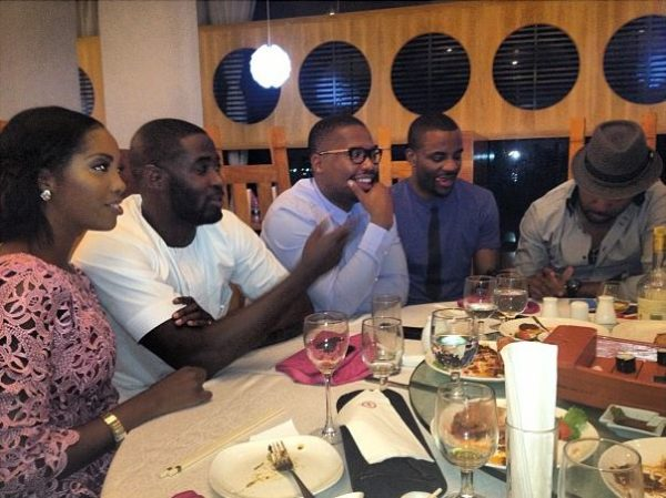 Toolz pre surprise birthday dinner - July 2013 - BellaNaija (1)